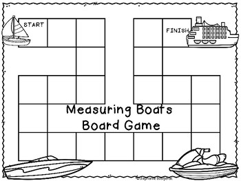 1st Grade Project Based Learning-Measuring and Building Boats Nonstandard Units