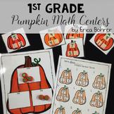 1st Grade Pumpkin Math Centers