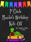 1st Grade READER'S WORKSHOP Kick-Off: 20 Days+ to Launch Reader's Workshop