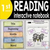 1st Grade READING Interactive Notebook {Common Core Aligned}