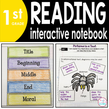 1st Grade READING Interactive Notebook {Common Core Aligned}
