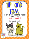 1st Grade Reading Street: Unit R, week 3: Tip & Tam