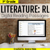 1st Grade RL Literature Digital Passages- For Distance Learning