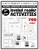 1st Grade Reach for Reading LEVELED READER ACTIVITIES 700 Pages