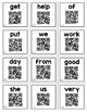 1st Grade Reach for Reading TALKING SIGHT WORD FLASH CARDS with Audio QR Codes