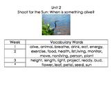 1st Grade Reach for Reading Unit 2 Vocabulary Cards
