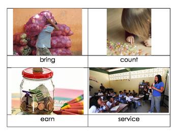 1st Grade Reach for Reading Unit 3 Vocabulary Cards