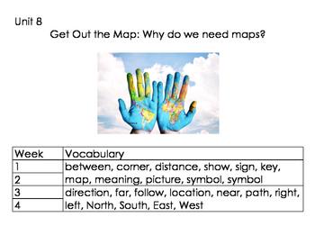 1st Grade Reach for Reading Unit 8 Vocabulary