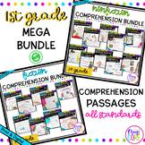 1st Grade Reading Comprehension MEGA Bundle with Google Sl