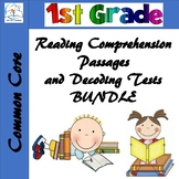 1st Grade Reading Comprehension Passages BUNDLE