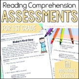 1st Grade Reading Comprehension Tests