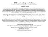 1st Grade Reading Curriculum