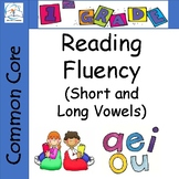 1st Grade Reading Fluency (Short Vowels - Long Vowels) Passages