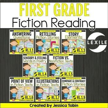 Reading: Literature- 1st Grade Bundle
