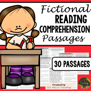 Reading Comprehension: 1st Grade Reading Comprehension Passages and Questions