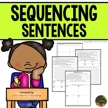 Sequencing Passages: Sequencing a Short Order of Events