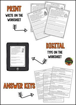 Reading Comprehension: Halloween Reading Comprehension Passages and Questions
