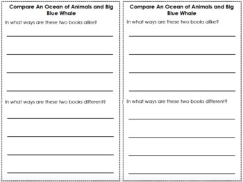 1st Grade Reading Responses for Collaborative Classroom