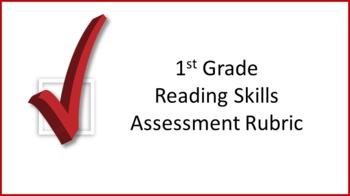 1st Grade Reading Skills Assessment Rubric