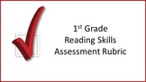 1st Grade Reading Skills Assessment Rubric