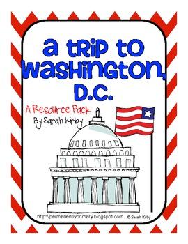 A Trip to Washington, D.C. Resource Pack