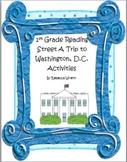 First Grade Reading Street  A Trip to Washington D.C.  Literacy Activities