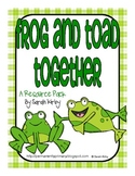 Frog and Toad Together Resource Pack