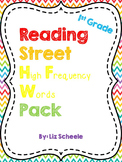 1st Grade Reading Street High Frequency Words
