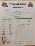 1st Grade Reading Street Newsletters Unit 1