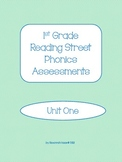 1st Grade Reading Street Phonics Assessments