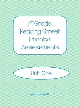 1st Grade Reading Street Phonics Assessments