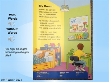 1st Grade Reading Street Power Point- Unit R Week 1 Day 4