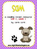 1st Grade Reading Street: Unit R week 1: Sam