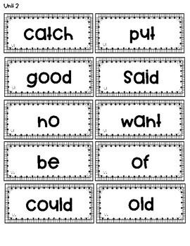 1st Grade Reading Street Sight Words