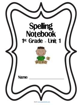 1st Grade Reading Street Spelling Tic Tac Toe Unit 1