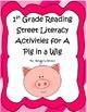 First Grade Reading Street Unit 1 Literacy Activities  Bundle