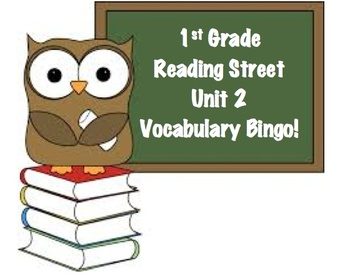 First Grade Reading Street Unit 2 Bingo Card Bundle