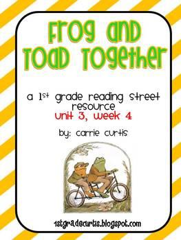 1st Grade Reading Street: Unit 3 Bundle