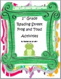 First Grade Reading Street  Frog and Toad Together Literacy Activities