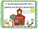 Reading Street 1st Grade Unit 3 Phonics and Spelling Games