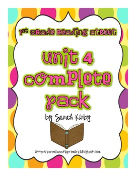 1st Grade Unit 4 Complete Pack