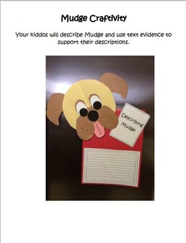 1st Grade Reading Street Henry & Mudge & Mrs. Topper's House Literacy Activities