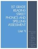 1st Grade Reading Street Unit 4 Phonics Test