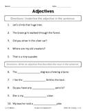 1st Grade Reading Street Unit 4 Week 1 Conventions Assessment