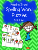 1st Grade Reading Street Unit One Spelling