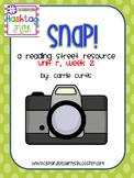 1st Grade Reading Street Unit R, week 2: Snap