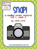 1st Grade Reading Street Unit R, week 2: Snap
