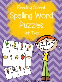 1st Grade Reading Street Unit Two Spelling