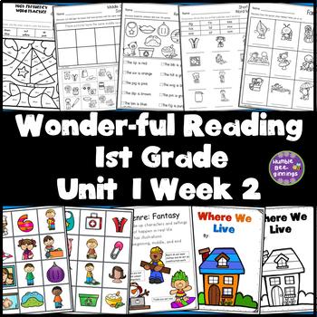 1st Grade Reading Unit 1 Week 2