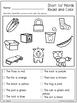 1st Grade Reading Unit 1 Week 4